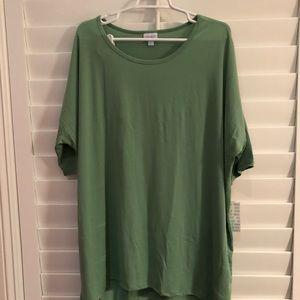 LuLaRoe NWT Green T-shirt
